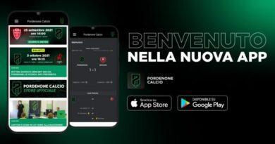 Pordenone Calcio: è online la nuova App dei ramarri