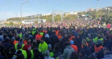 """Green Pass: a Trieste la protesta va avanti a oltranza"""""""