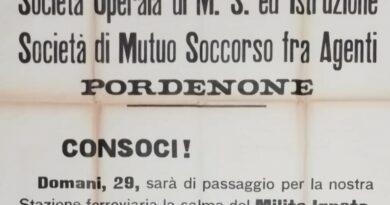 Storica Somsi Pordenone: cento anni fa, il manifesto per il Milite Ignoto