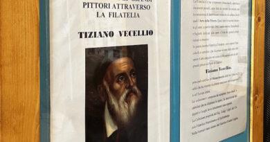 Tiziano tra Venezia e Spilimbergo, apprezzamento mostra filatelica sul Vecellio